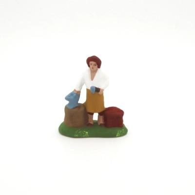 Mini santon de Provence le forgeron