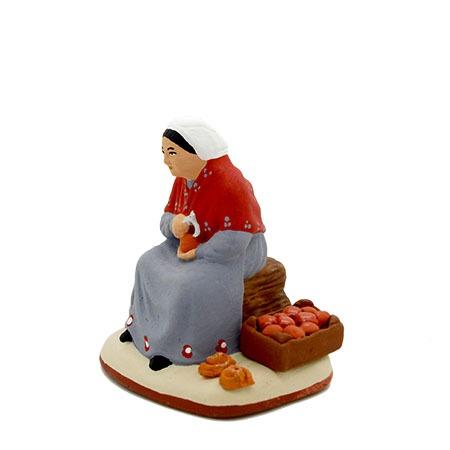 Santon femme au picon coté