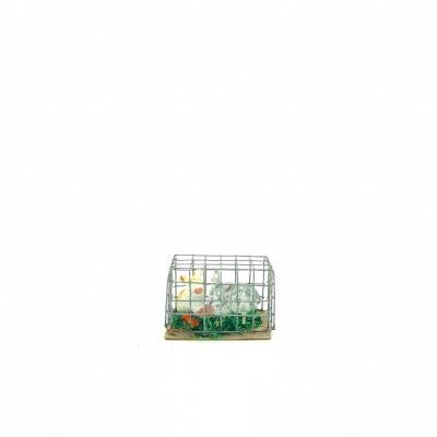 Santon Provence cage à lapin