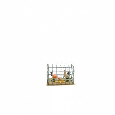 Santon Provence cage poules