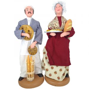 santon boulanger boulangère