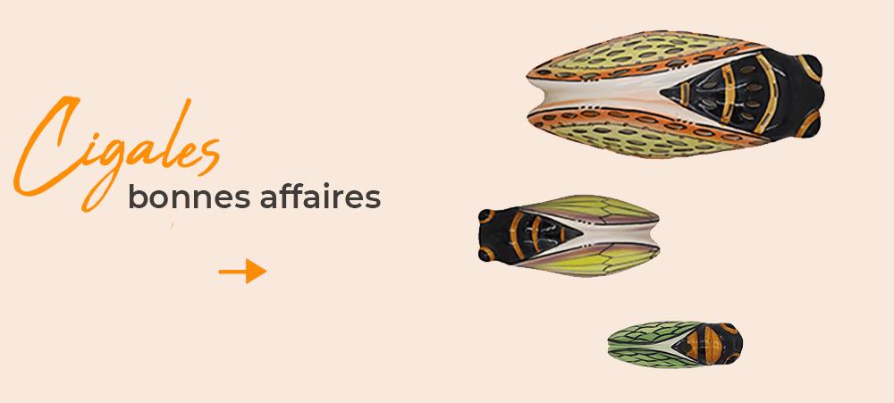 Bonnes affaires cigales de Provence